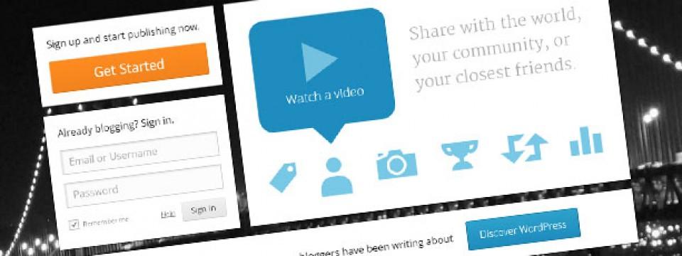 1.1. Kako pokrenuti sopstveni blog na WordPress.com